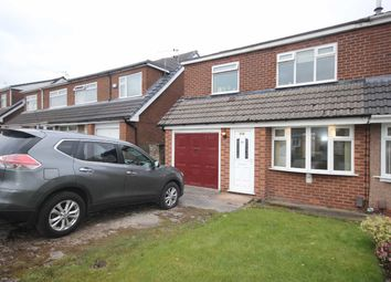 Thumbnail 3 bed semi-detached house to rent in Lymefield Drive, Worsley, Manchester
