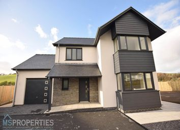 Thumbnail 4 bed detached house for sale in Cefn Ceiro, Llandre, Bow Street