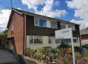 Thumbnail 1 bedroom flat to rent in Woodbrook Road, Totnes