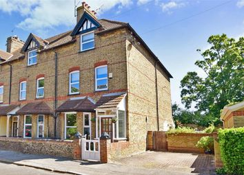 Thumbnail 4 bed end terrace house for sale in Harold Avenue, Westgate-On-Sea, Kent