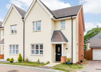 Thumbnail 3 bedroom semi-detached house for sale in Chamberlain Way, Bedford, Beds