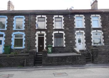 Thumbnail 3 bed terraced house to rent in Pontshonnorton Road, Pontypridd