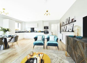 Thumbnail 3 bedroom flat for sale in Lakeside Drive, Park Royal, London
