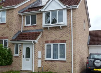 Thumbnail 3 bed end terrace house to rent in Campion Close, Gillingham