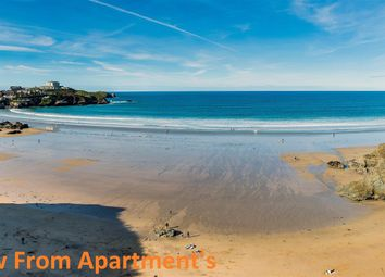 Thumbnail 3 bed flat for sale in Cliff Road, Newquay