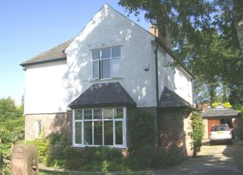 Thumbnail 4 bed detached house to rent in Riddings Road, Hale
