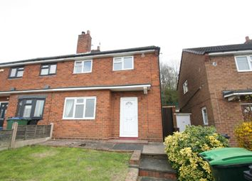 Thumbnail 2 bed semi-detached house to rent in Highams Close, Rowley Regis