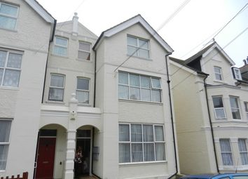 Thumbnail 2 bed flat to rent in Wilton Road, Bexhill On Sea East Sussex