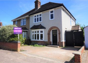 Thumbnail 4 bed semi-detached house for sale in Audley Road, Colchester