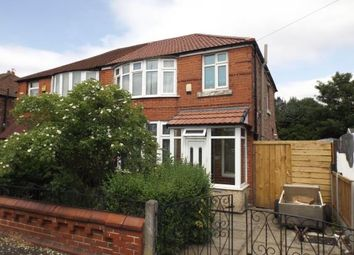 Thumbnail 3 bed semi-detached house for sale in Victoria Road, Fallowfield, Manchester, Greater Manchester