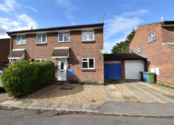 Thumbnail 3 bed semi-detached house for sale in Crake Place, College Town, Sandhurst, Berkshire