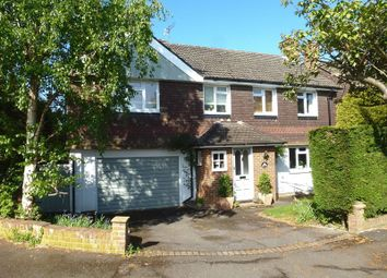 Thumbnail 4 bed detached house for sale in Barn Meadow Lane, Bookham, Leatherhead