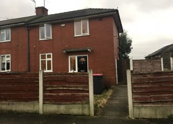 Thumbnail 2 bed semi-detached house to rent in Haddon Road, Eccles, Manchester