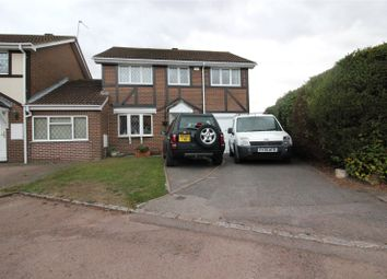 Thumbnail 4 bed detached house for sale in Merrifield Close, Lower Earley, Reading, Berkshire