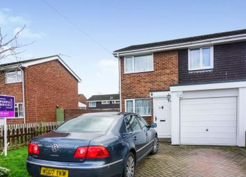 Thumbnail 3 bed semi-detached house for sale in Norset Road, Fareham