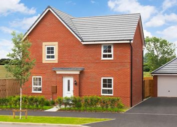 "Thumbnail 4 bedroom detached house for sale in ""Alderney"" at Penrhyn Way, Grantham"