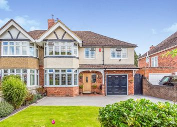 Thumbnail 4 bed semi-detached house for sale in Hungerford Drive, Reading