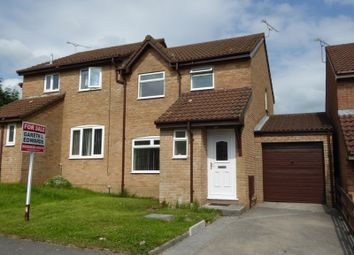 Thumbnail 3 bed semi-detached house to rent in Tremains Court, Brackla, Bridgend, Bridgend.