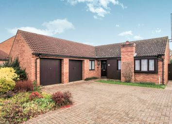 Thumbnail 3 bed detached bungalow for sale in The Rookery, Orton Wistow, Peterborough