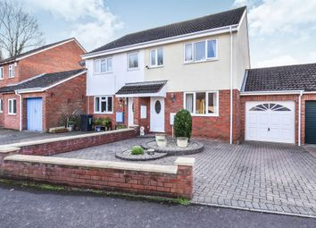 Thumbnail 3 bedroom semi-detached house for sale in Thames Drive, Taunton