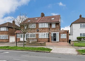 Thumbnail 4 bed semi-detached house for sale in Du Cros Drive, Stanmore