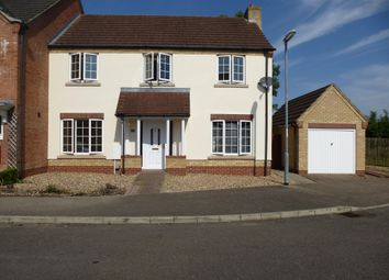 Thumbnail 4 bedroom terraced house to rent in Greenwood Way, Wimblington, March