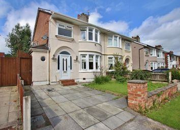 Thumbnail 3 bed semi-detached house for sale in Conville Boulevard, Higher Bebington, Wirral