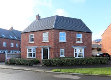 Thumbnail 4 bed detached house for sale in Flora Grove, Ashby-De-La-Zouch