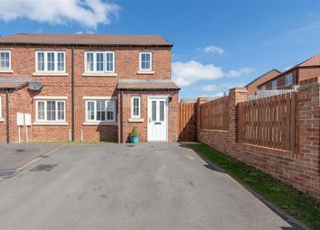 Thumbnail 3 bedroom semi-detached house for sale in Askrigg Close, Consett