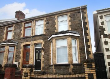 Thumbnail 3 bed end terrace house for sale in Grosvenor Road, Abertillery, Blaenau Gwent