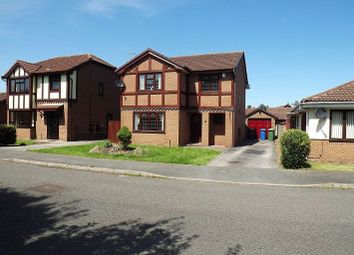 Thumbnail 4 bed detached house to rent in Garwood Close, Westbrook, Warrington