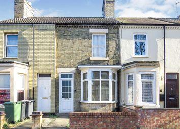 3 bed terraced house for sale in George Street, Woodston, Peterborough PE2