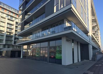 Thumbnail Restaurant/cafe to let in Unit - Block 2, The River Gardens, Banning Street, London