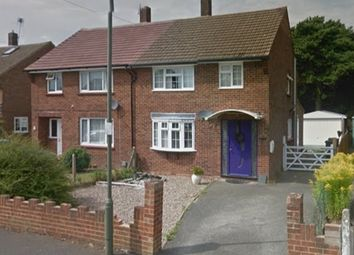 Thumbnail 3 bed semi-detached house for sale in Saddleback Road, Camberley