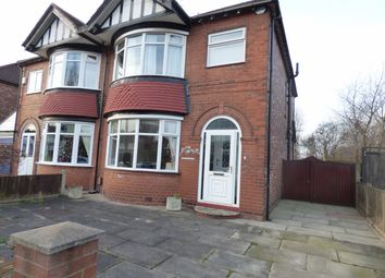 Thumbnail 3 bed semi-detached house for sale in Fernley Road, Stockport