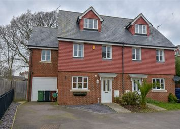 Thumbnail 4 bed semi-detached house for sale in Nazareth Close, Bexhill-On-Sea, East Sussex