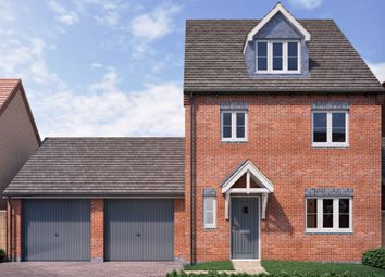 Thumbnail 4 bed link-detached house for sale in Aubries, Walkern