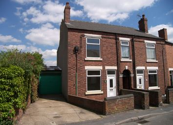 Thumbnail 2 bed semi-detached house to rent in Queen Street, Somercotes, Alfreton, Derbyshire