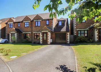 Thumbnail 3 bed semi-detached house for sale in Huntsland, Royal Wootton Bassett, Royal Wootton Bassett