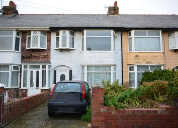 Thumbnail 3 bed terraced house for sale in Babbacombe Avenue, Blackpool