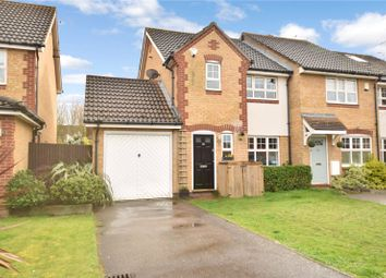 Thumbnail 3 bed end terrace house for sale in Pentstemon Drive, Swanscombe, Kent