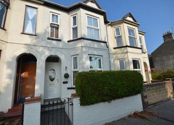 Thumbnail 4 bedroom terraced house for sale in Denmark Road, Lowestoft