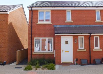 Thumbnail 3 bed semi-detached house for sale in Hornby Walk, Trowbridge