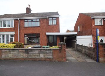 Thumbnail 3 bed semi-detached house to rent in Hanover Road, Hindley, Wigan