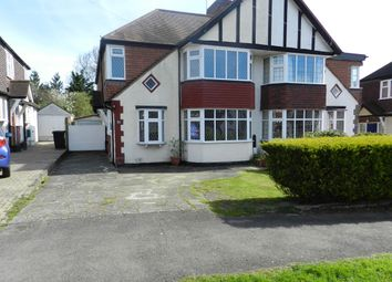 Thumbnail 4 bed semi-detached house for sale in Gayfere Road, Stoneleigh, Epsom