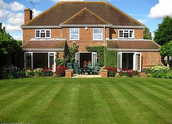 Thumbnail 4 bed detached house for sale in Inkpen Road, Kintbury, Berkshire