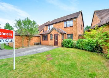 Thumbnail 4 bed detached house for sale in Minerva Gardens, Wavendon Gate, Milton Keynes