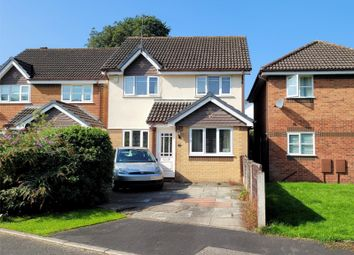 Thumbnail 3 bed detached house for sale in Hatchmere Close, Timperley, Altrincham