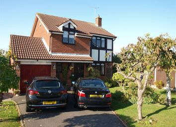 Thumbnail 4 bed detached house for sale in Orchid Close, Brizlincote, Burton-On-Trent, Staffordshire
