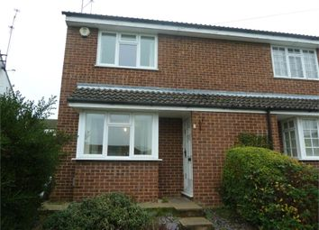 Thumbnail 2 bed end terrace house to rent in Barrow Path, Leighton Buzzard, Bedfordshire